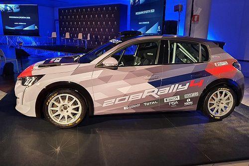 Fotogallery CIR: ecco la Peugeot 208 Rally4 di Andreucci