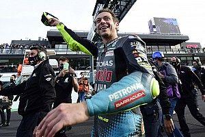 """Rossi emozionato: """"Il modo migliore per dire ciao"""""""