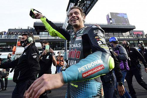 Valentino Rossi Puas Bisa Beri Hiburan di Misano