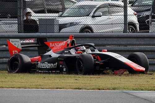 Calderon's Super Formula comeback plagued by throttle issues