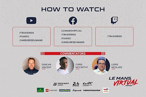 Le Mans Virtual Series by Motorsport Games se prepara para a segunda etapa em 16 de outubro