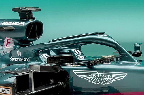 Así fue la presentación del Aston Martin F1 de Vettel y Stroll