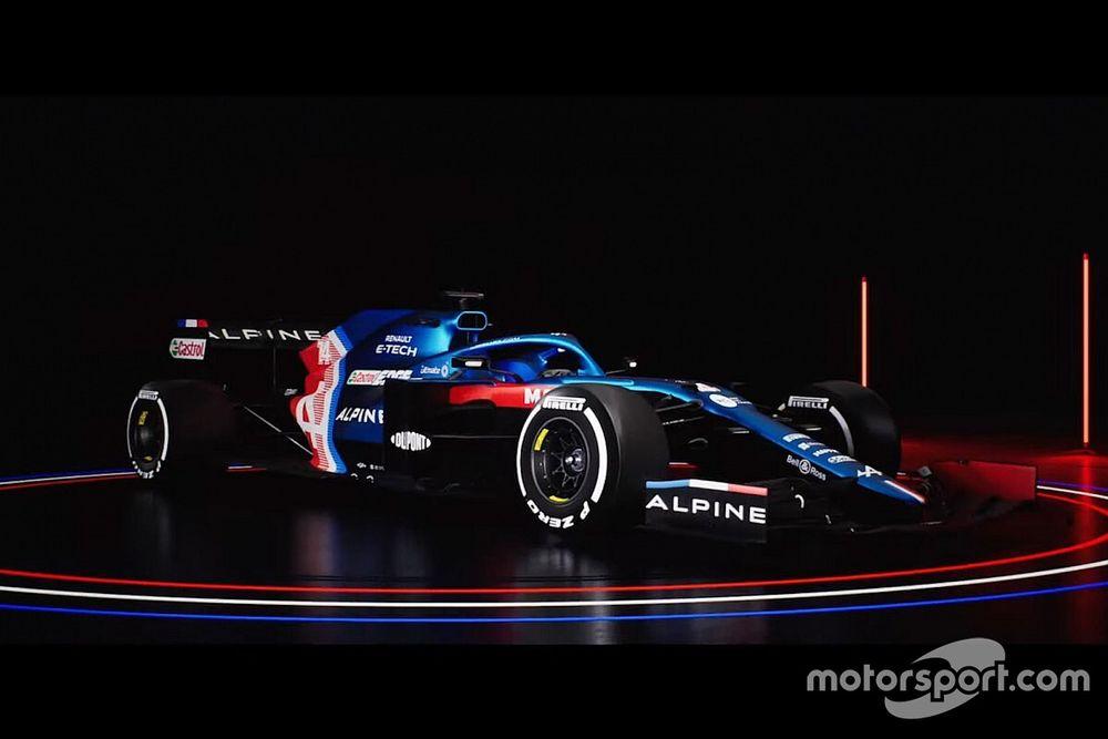 ألبين تكشف عن سيارتها الجديدة لموسم 2021 في الفورمولا واحد