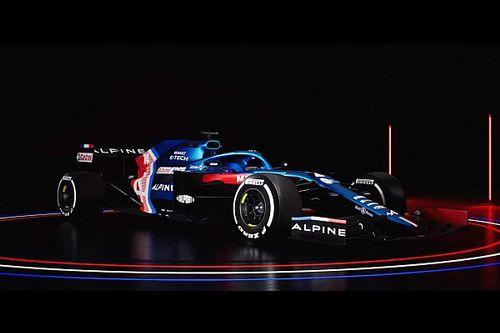 F1: Alpine apresenta carro de 2021, o primeiro da 'era pós-Renault'