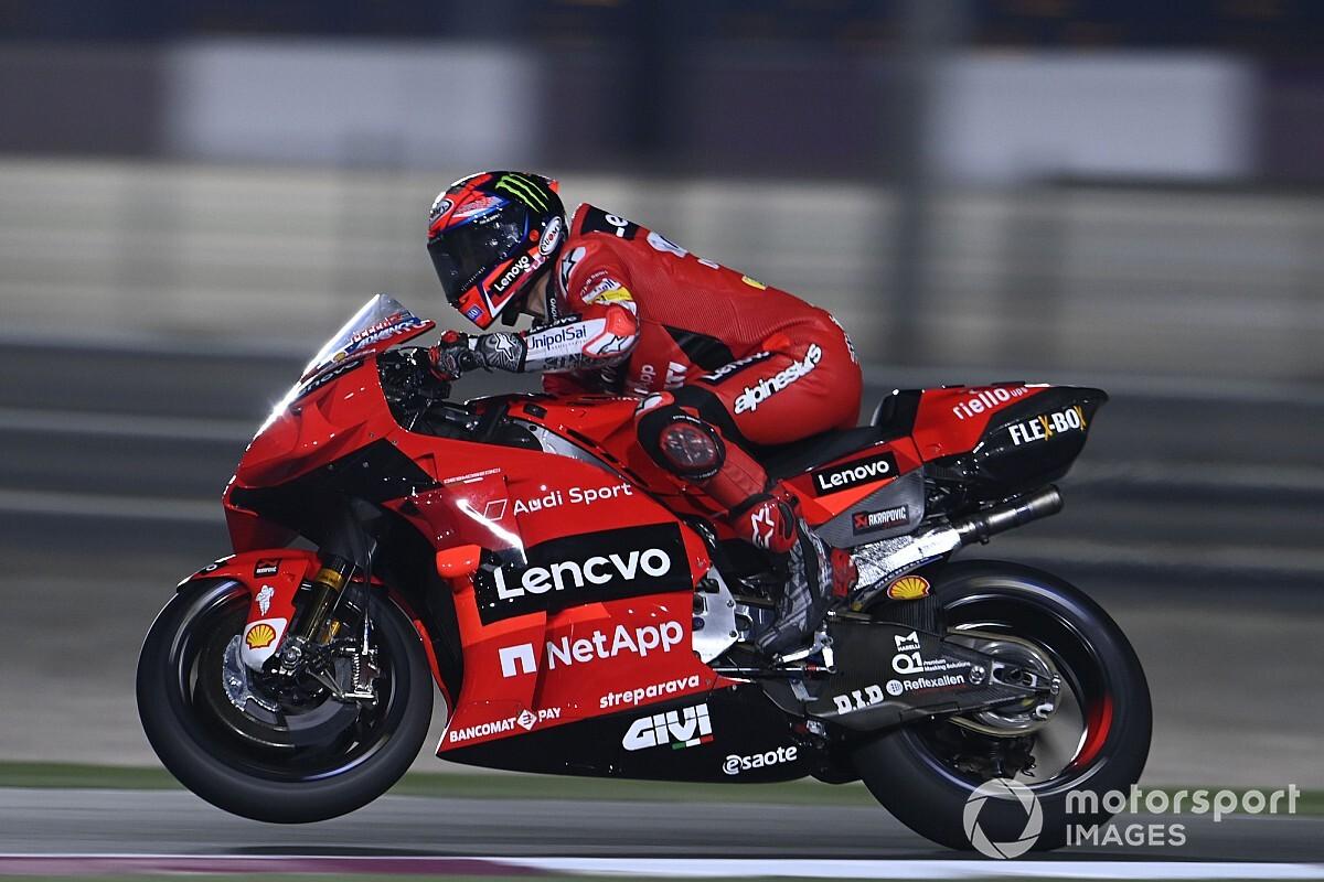 Bagnaia Ducati Is The Favorite Bike In Qatar Ruetir