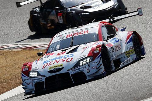 【スーパーGT】岡山公式テスト2日目、GT500は39号車SARDのコバライネンが最速を記録