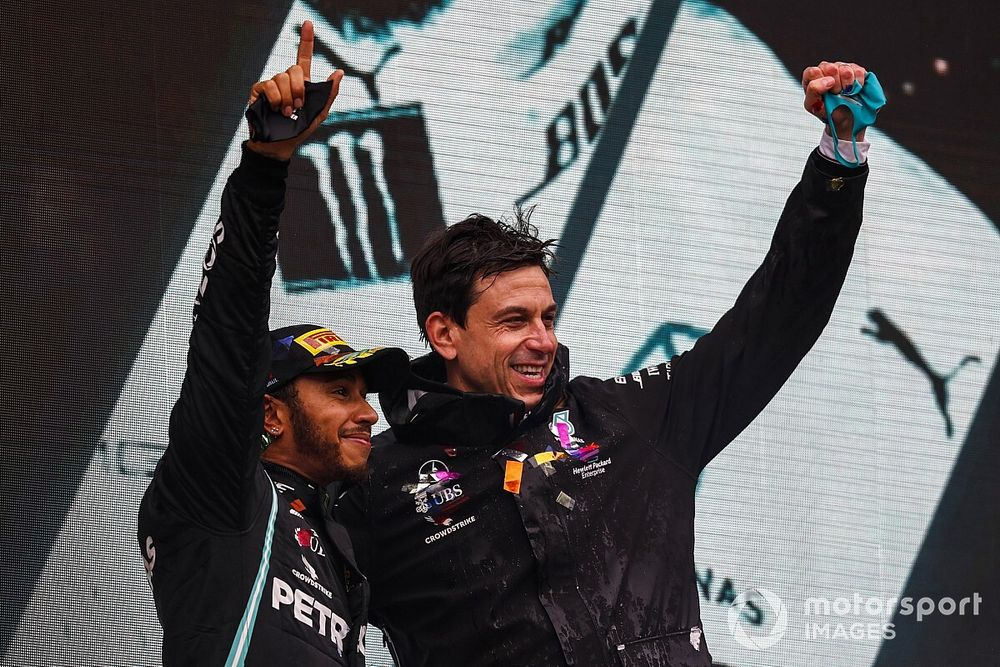 """Wolff has no qualms with Hamilton being """"polarising"""""""