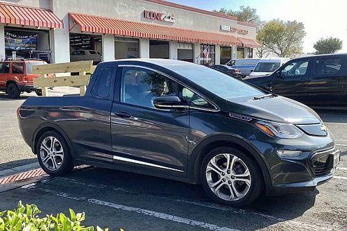 'Picape Bolt': carro elétrico pode virar caminhonete por R$ 106 mil