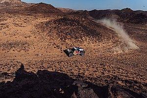 """Sainz: """"Estoy harto, esto no es el Dakar"""""""