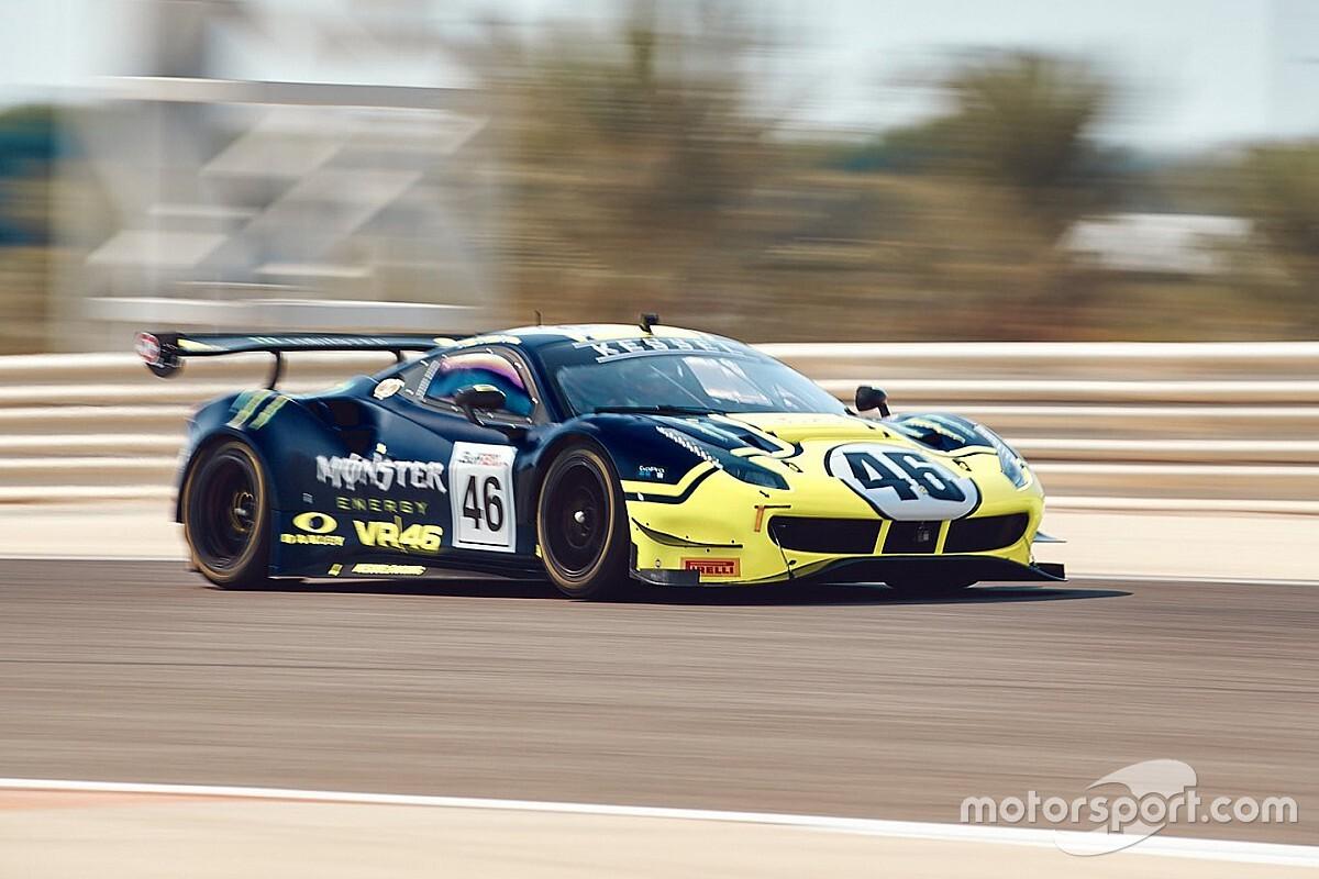 12h Golfo, Libere 1: McLaren ok, Rossi 4° con la Ferrari VR46