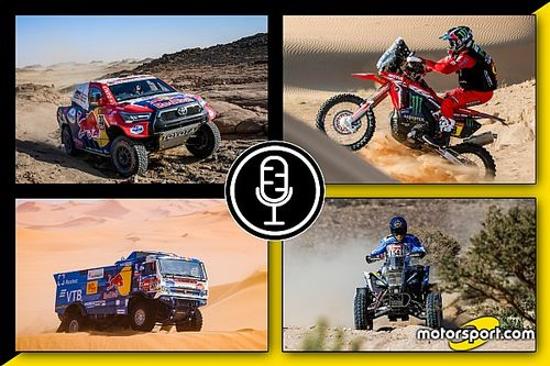 "Podcast Dakar 2021: ""Dune Mosse - Tappa 4"