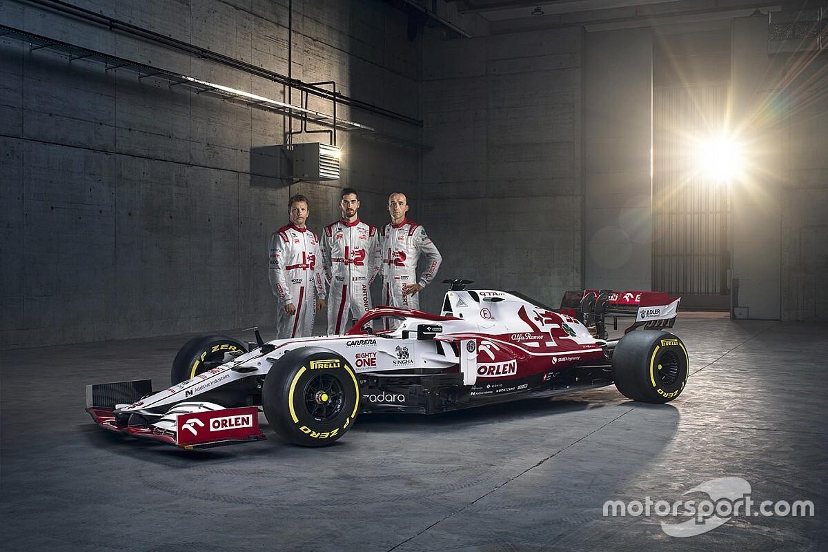 Alfa Romeo zette ontwikkelingstokens in voor nieuwe neus op C41