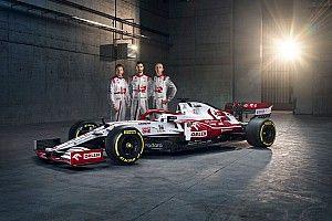 Fotogallery F1: l'Alfa Romeo C41 di Raikkonen e Giovinazzi