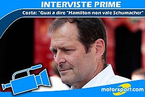 """Costa: """"Guai a dire Hamilton non vale Schumacher"""""""