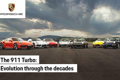Porsche 911 Turbo, una sfida in accelerazione lunga 45 anni