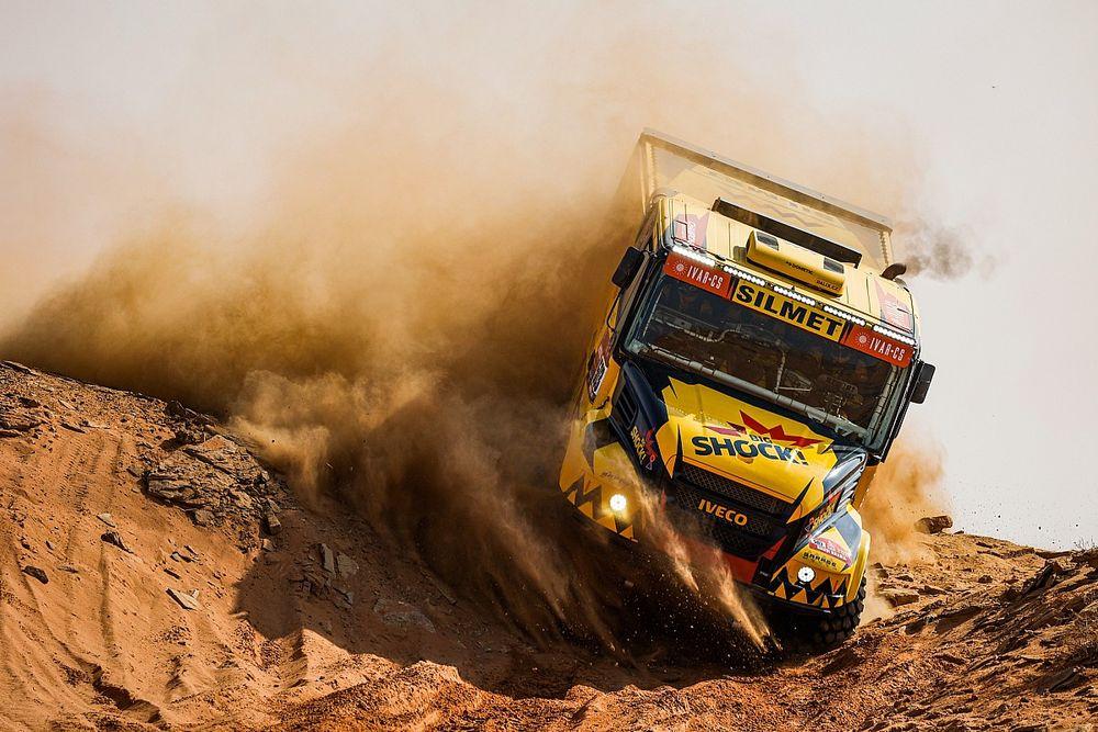 Dakar, Camion, Tappa 9: Macik fa festa con l'Iveco!