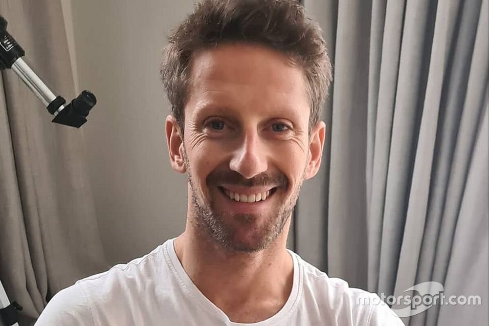 F1: Grosjean acerta detalhes para teste de despedida com a Mercedes