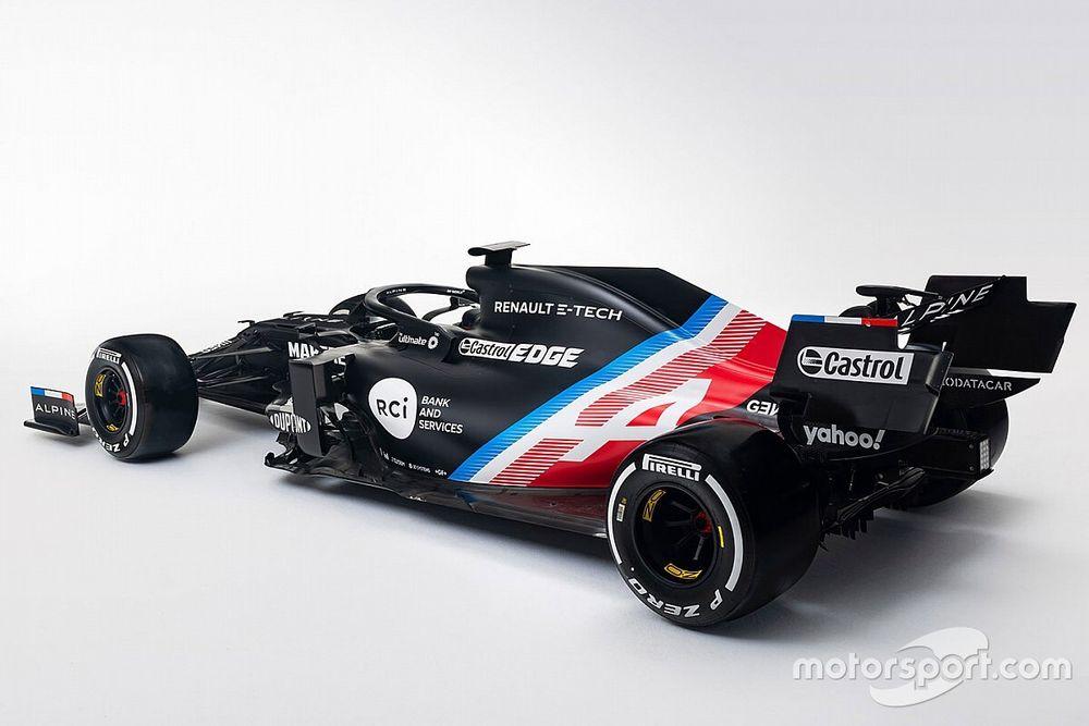 """""""Nova"""" equipe da F1, Alpine divulga primeiras imagens da pintura do carro"""