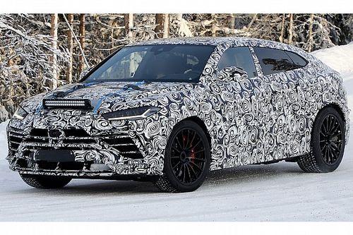 Lamborghini Urus, online le prime foto spia del restyling