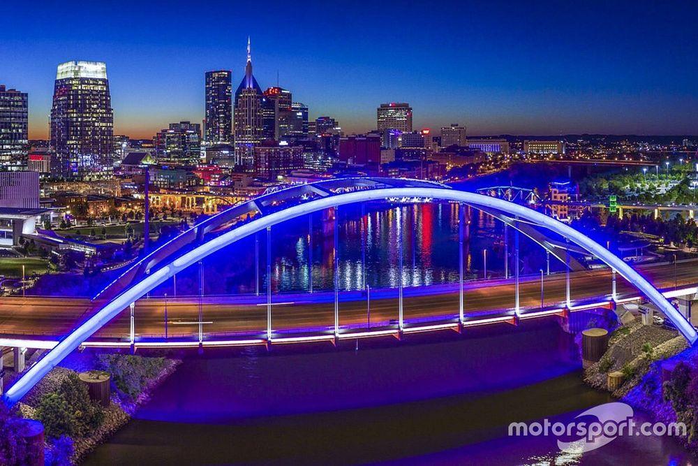 Nashville begonnen met opbouw stratencircuit voor IndyCar-debuut