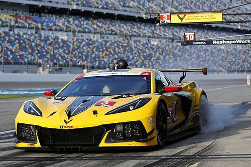"Taylor ""super upset"" by Garcia missing Corvette celebration"