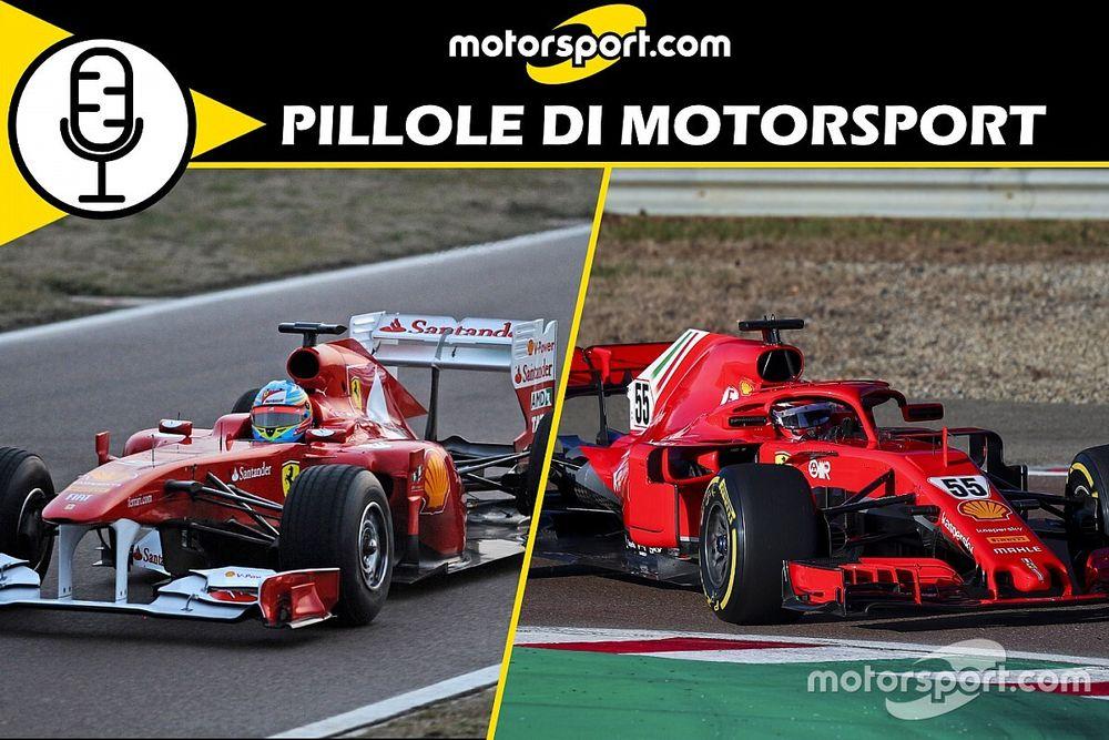Podcast: 28 gennaio, il giorno in Rosso di Alonso e Sainz