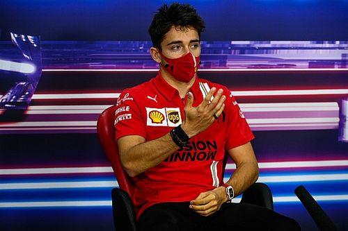 "Leclerc: 2021 Ferrari showing ""promising signs"""