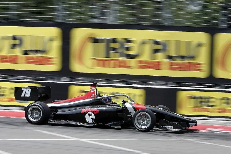 St. Pete Indy Lights: Malukas holds off Kirkwood in Race 2
