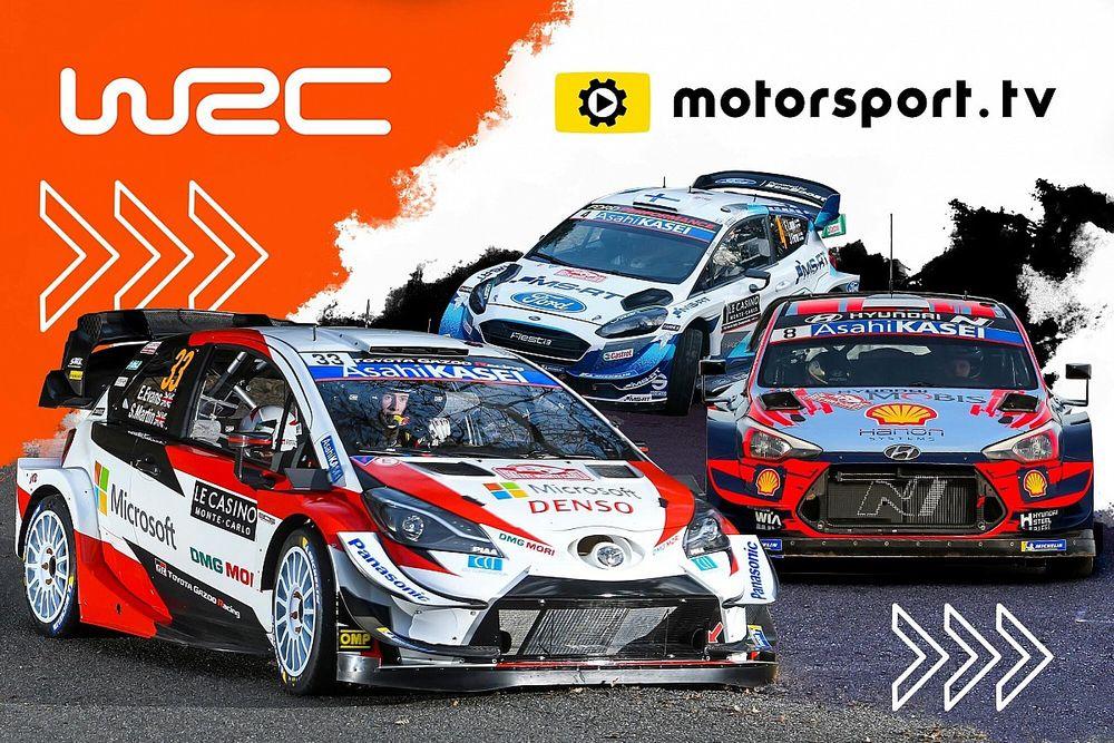 Le WRC lance sa propre chaîne sur Motorsport.tv