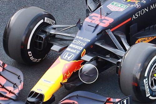 Red Bull: c'è un doppio soffiaggio nel cape della RB16!