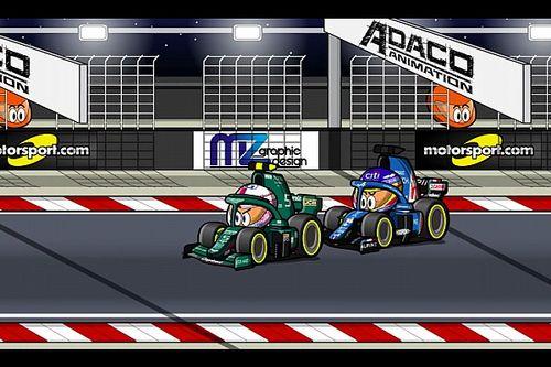 Vídeo: el GP de Bahrein 2021 de Fórmula 1, por MiniDrivers