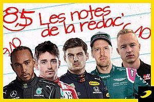 Les notes du Grand Prix de Monaco 2021
