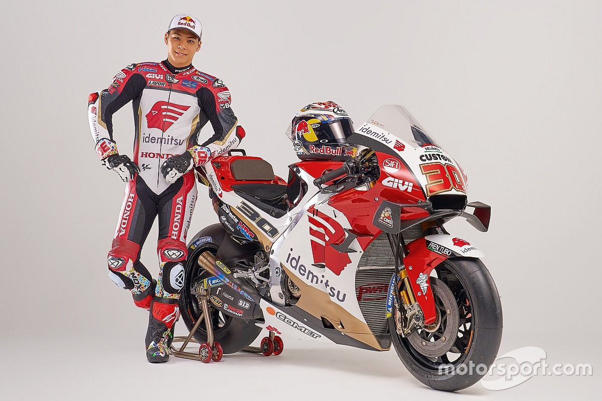 LCR muestra la moto de Takaaki Nakagami para 2021