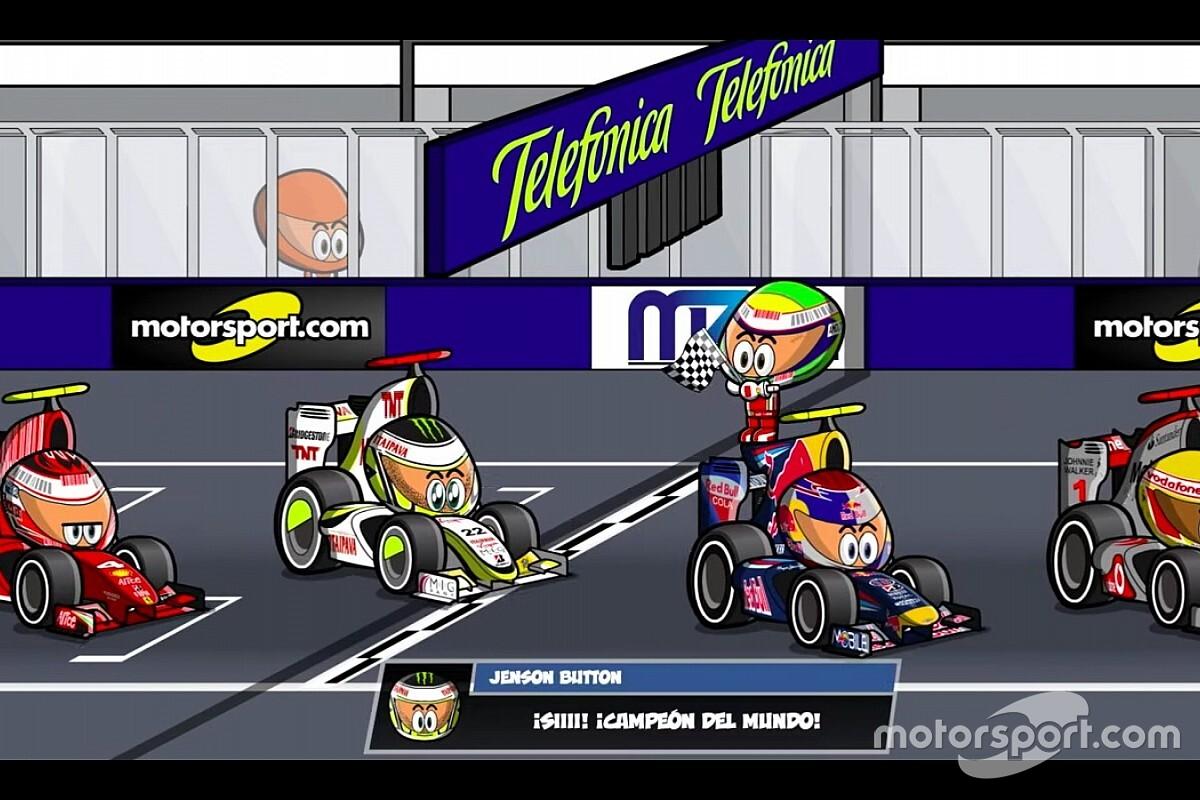 Vídeo: el GP de Brasil 2009 que coronó a Button, por MiniDrivers