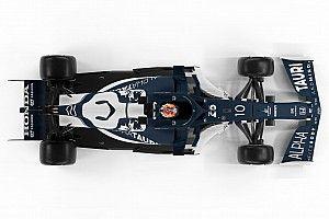 """F1新車""""雑感""""解説:アルファタウリ・ホンダAT02。既に2020年中盤レベルの性能?"""
