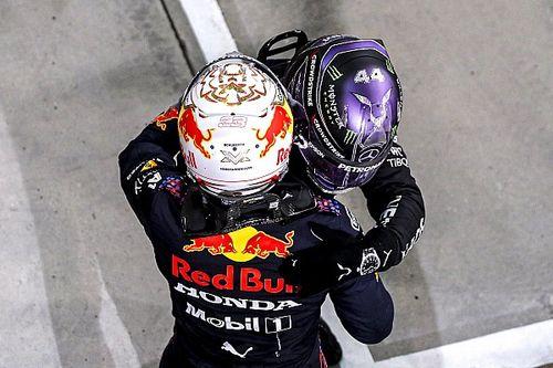 """Hamilton: """"Zonder die fout had Verstappen gewonnen"""""""