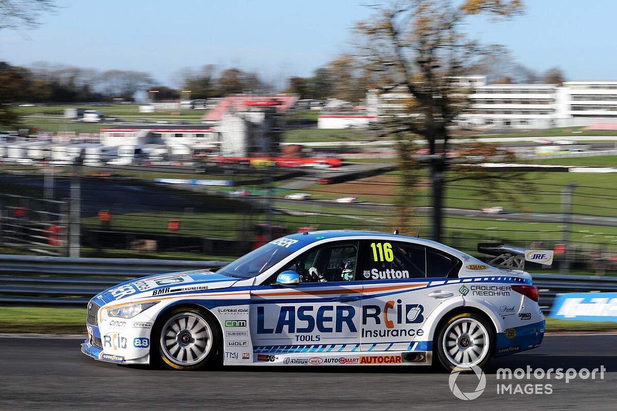 Sutton to defend BTCC title with expanded Laser Tools team