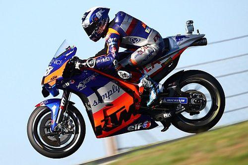 Оливейра выиграл квалификацию MotoGP в Портимане. Новый чемпион мира занял только 20-е место