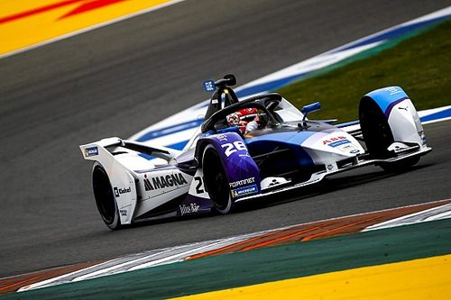 Valencia E-Prix: Gunther continues test form by topping FE practice