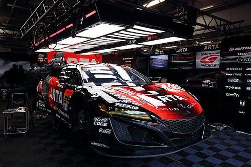 55号車ARTA NSX GT3、エンジントラブルで予選出走できず。大湯「最後尾から追い上げる」