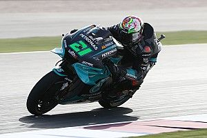 Qatar MotoGP: Morbidelli tops FP1 as Miller crashes