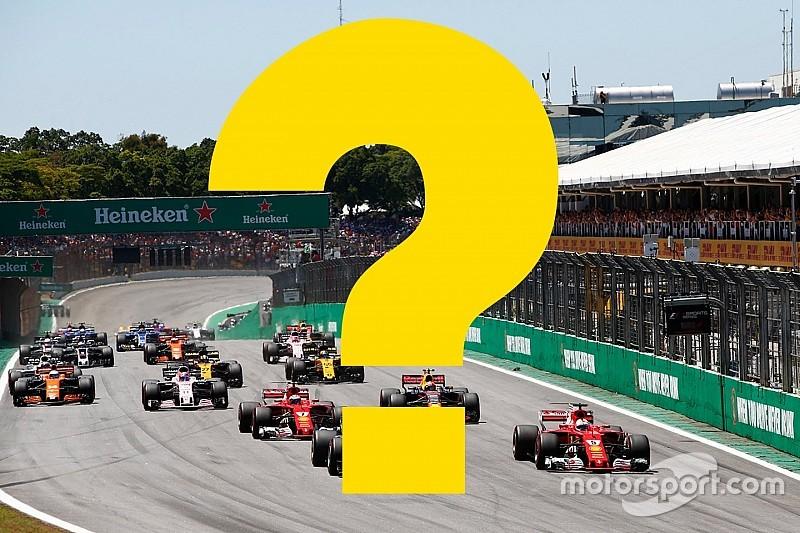 Всего год назад. Вспомните ли вы прошлый Гран При Бразилии?
