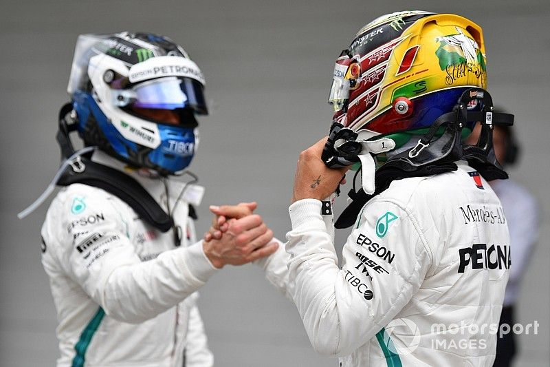 "Mercedes: Bottas es un piloto ""alfa"" como Hamilton"