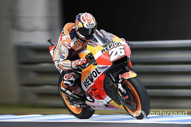 MotoGP FT2 in Motegi: Bestzeit für Dani Pedrosa auf abtrocknender Strecke