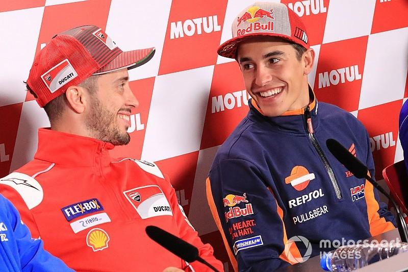 Dovizioso: Ducati bodoh jika tak pertimbangkan Marquez