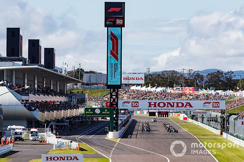 鈴鹿サーキット、F1日本GP概要を発表。ホンダ応援席1万席設定