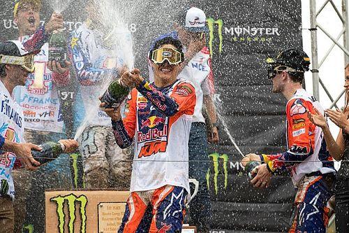 Vreugde en teleurstelling voor Team NL na podiumplaats in Motocross of Nations