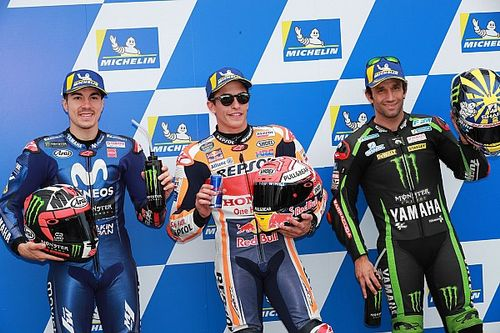 Starting grid MotoGP Australia 2018