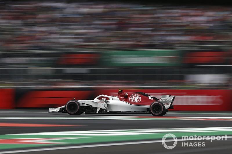 Sauber, 2017'ye göre Meksika'da 2.9 saniye hızlandı