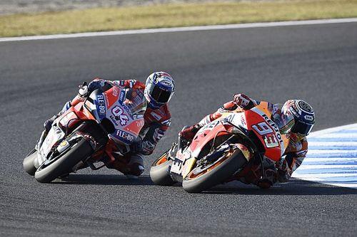 """Dovizioso: Marquez """"valami különlegeset"""" tett Motegiben"""